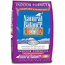 Natural Balance Indoor Ultra Premium, Dry Cat Food, 15-Pound Bag