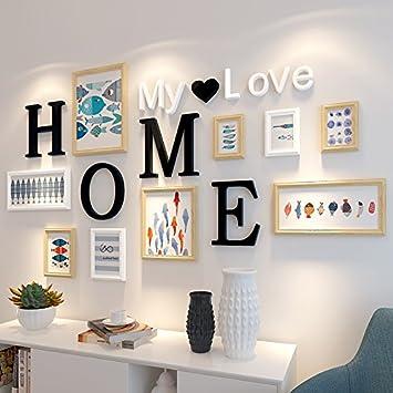 Das Wohnzimmer ist eingerichtet Malerei Wandmalerei Wandmalerei ...