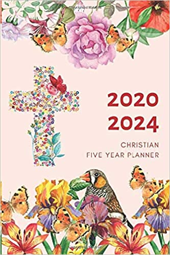 5 Year Planner 2020-2024 Christian Five Years Monthly ...
