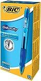 BIC RLC11BE - Velocity Roller Ball Retractable Gel Pen, Blue Ink, Medium, Dozen-BICRLC11BE