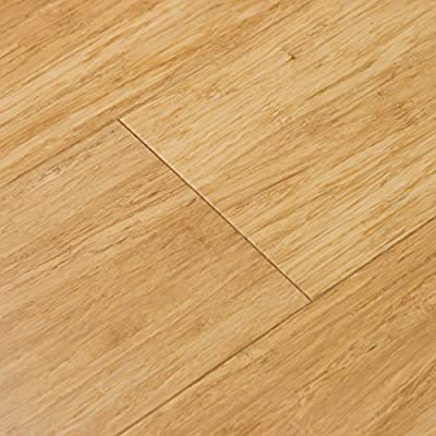 Cali Bamboo - Solid Wide T&G Bamboo Flooring, Natural Light Brown - Sample