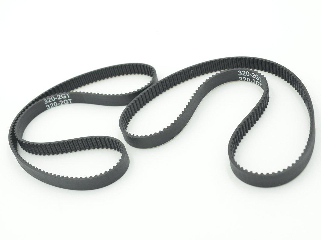 sourcingmap/® 2m Long XL Type 5.08mm Pitch 10mm Width Machine Timing Belt White