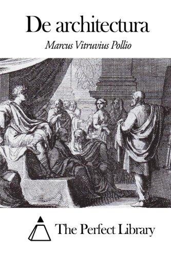 De architectura (Latin Edition)