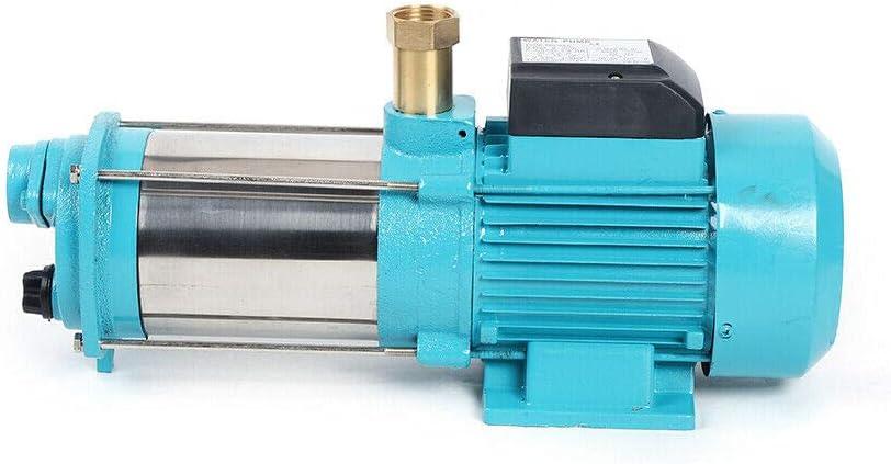 1300W Kreiselpumpe Hauswasserwerk Gartenpumpe mit Druckschalter 6000L//h 9.8Bar