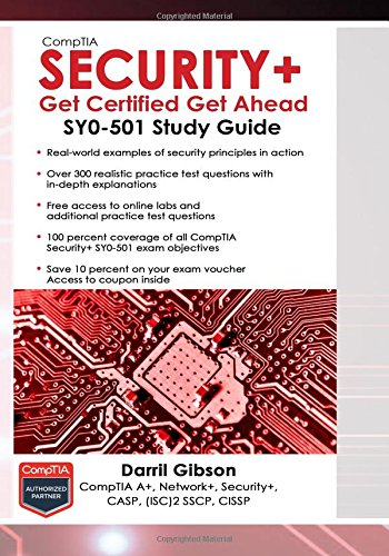 CompTIA Security+ Get Certified Get Ahead: SY0-501 Study Guide cover