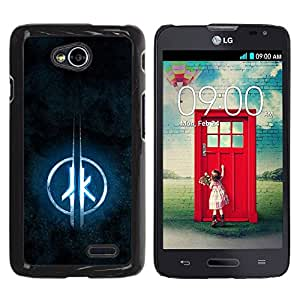 PC/Aluminum Funda Carcasa protectora para LG Optimus L70 / LS620 / D325 / MS323 JK / JUSTGO PHONE PROTECTOR