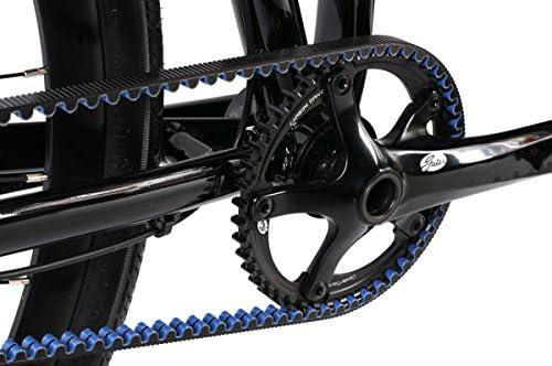 Montague Allston Pavement Hybrid Folding Bike, Gloss Black/Red (700c, 21-Inch Frame)