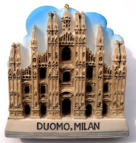 Cathedral Duomo Di Milano Milan Italy, High Quality Resin 3d Fridge Magnet