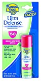 Banana Boat Sunscreen Ultra Defense Broad Spectrum Sun Care Sunscreen Stick - SPF 50, 0.55 Ounce (Pack of 4)