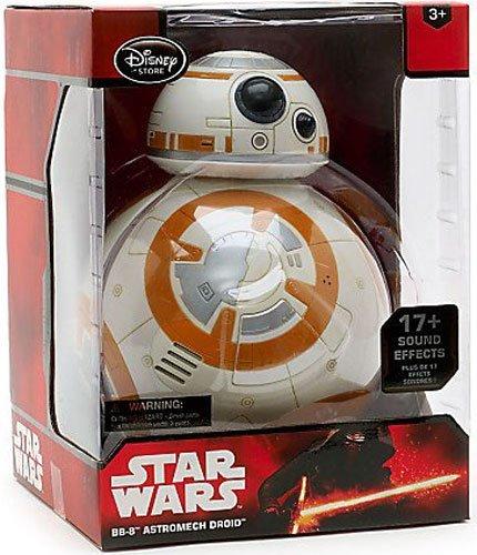 7 opinioni per Ufficiale Disney Star Wars il forza risveglia 29cm BB-8 ne figura interattiva
