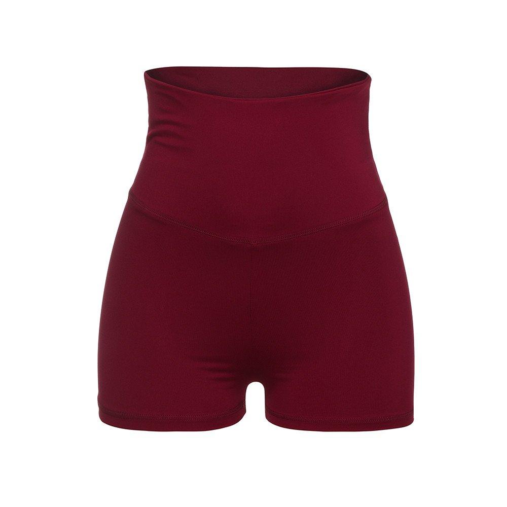 Women High Waist Skinny Shorts, Trouser Pants Summer Soft Outwear Loose Leisure Shorts Casual Yoga Pants