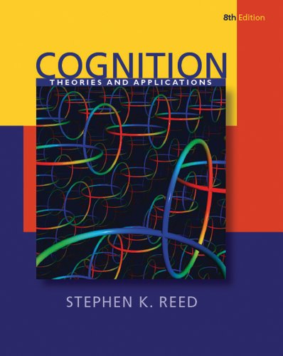Cognition: Theories and Applications (PSY 384 Cognitive Psychology)