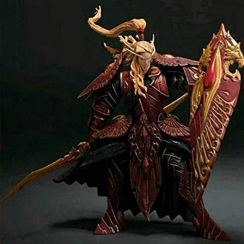 (Bob 101 Blood ELF Paladin: QUINTHALAN SUNFIRE Wow Action Figure Collectable Model Toy)