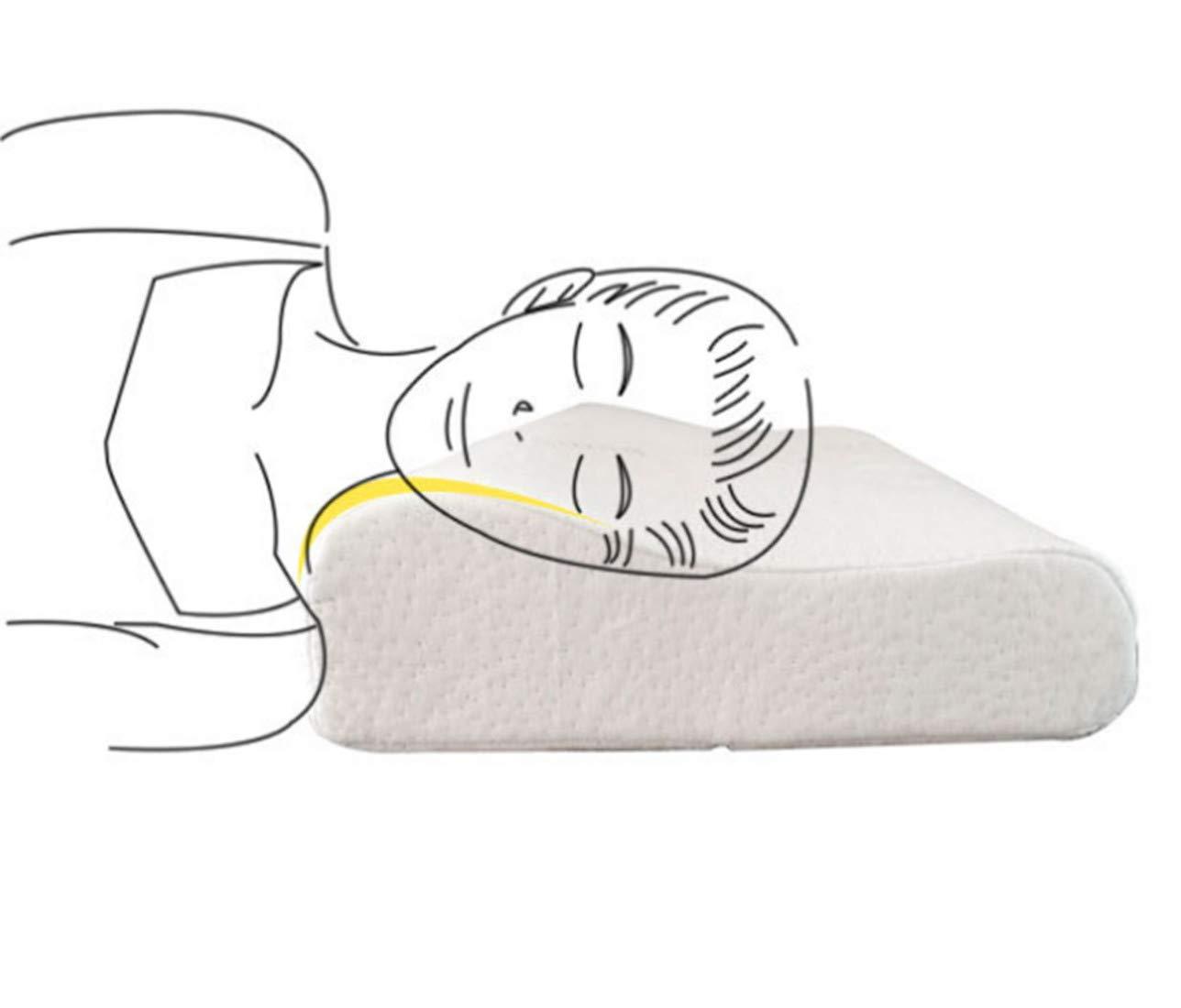 /doux Soutien Oreiller hypoallerg/énique lavable Vie Hall en mousse /à m/émoire Oreiller/ Kids Pillow /Standard cervical Soins de sant/é Oreiller orthop/édique de massage sommeil cou oreillers/