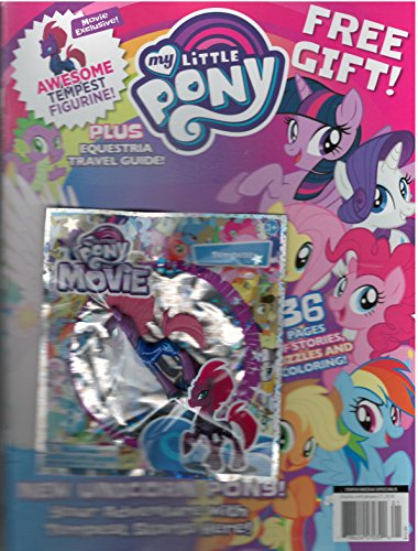 Topix Media Special My Little Pony Magazine 2017 With free Gift (Tempest Figurine) (Figurine Magazine)
