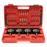 PMD Products 4 Gauge Motorcycle Carburetor Vacuum Synchronizer Adjustment Tool Set to Synchronize Carbs