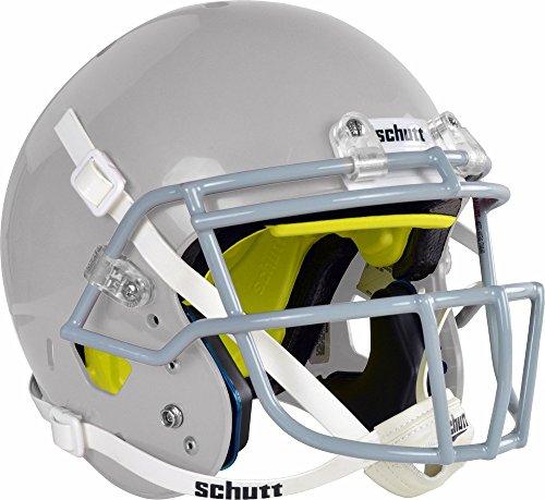 silver football helmet - 5