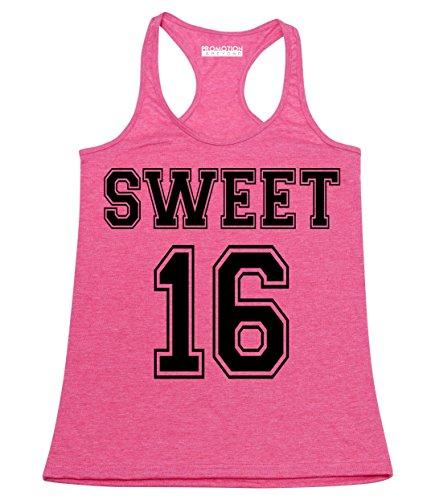 P&B Sweet 16 Birthday Women's Tank Top, XL, H. -