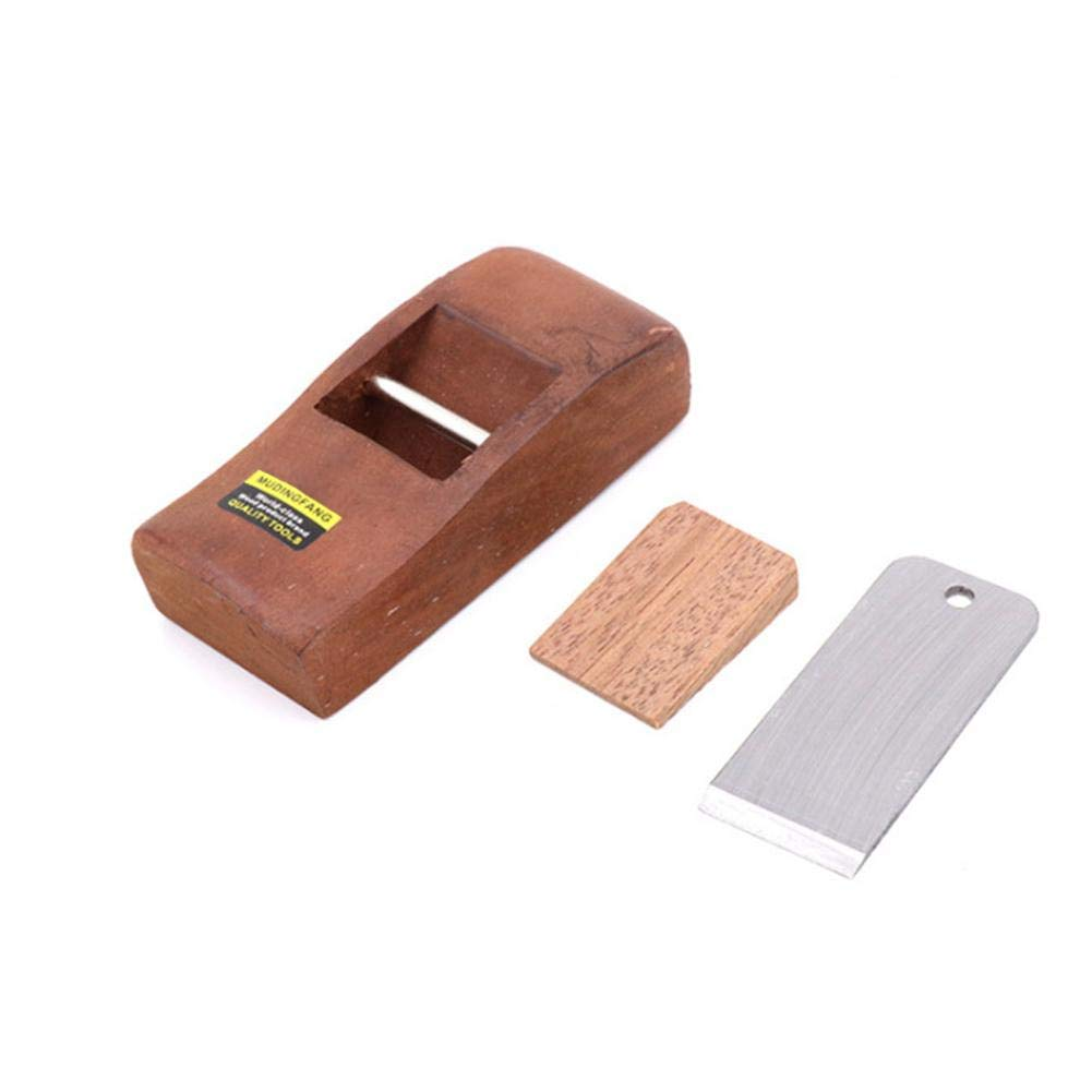 Cepilladora de mano Herramientas de mano de madera Carpintero Afeitado Woodcraft Canto de corte Duro Carpinter/ía Cepilladora