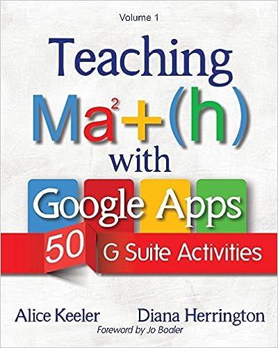 Descargar Teaching Math With Google Apps: 50 G Suite Activities Epub Gratis