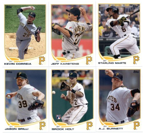 2013-topps-baseball-pittsburgh-pirates-complete-team-set-sealed-22-cards-aj-burnett-starling-marte-j