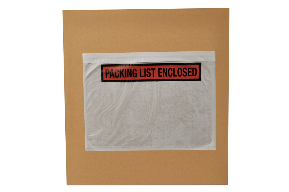 7 X 5.5 Packing List Enclosed Envelopes Panel Face 36000 Pieces by PSBM
