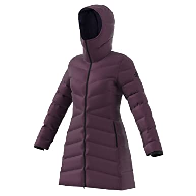 adidas outdoor Womens Climawarm Nuvic Jacket - Red -  Amazon.co.uk ... 727d930da6