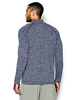 Under Armour Men's Tech 14 Zip, Academysteel, Large 1