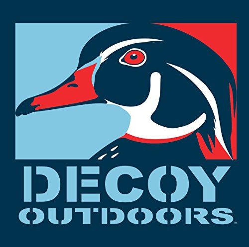 Decoy Outdoors Wood Duck Drake, Duck Hunting Sticker (Drake Duck Hunting)