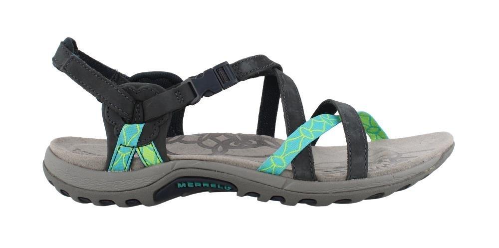 Merrell Women's Jacardia Sandal B07863HR1K 9 B(M) US|Navy