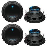 4) New Planet Audio AC8D 8' 4800 Watt Car Subwoofers Power Sub Woofer DVC 4 Ohm