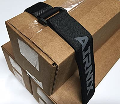 "4 Pack (40"" x 1.5"") AIRNIX Velcro Reusable Buckle Cable Tie Down Cinch Strap Hook Loop"