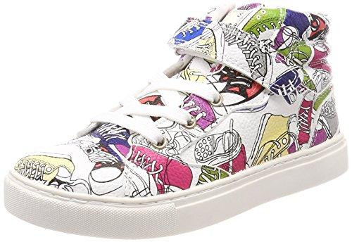 ESPRIT Unisex-Kinder Filou Booti Clr Hohe Sneaker Beige (Off White)