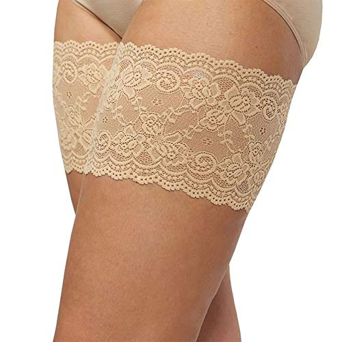 Anti-chafing thigh bands plus size sexy lace for women Elastic Strap Tight Non-Slip