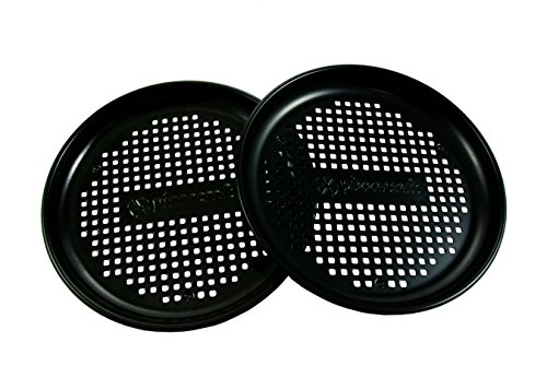 Pizza Pan Personal - Pizzacraft Personal Pizza Pan / 8.2in - Set 2 - Nonstick finish PC0315