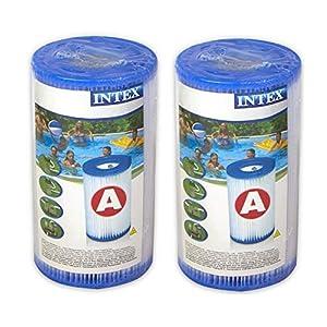 Intex 29002 – Cartucho para filtros para piscinas, 2 unidades