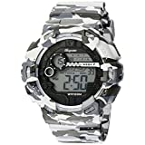 Burgmeister Men's BM803-020 Digital Display Quartz Grey Watch