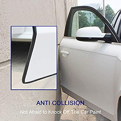 Car Door Edge Guards, Anumit 24Ft U Shape Rubber Seal Trim Car Door Protector Car Protection Universal Exterior Accessories Anti-Collision Rubber Clips Fit for Most Car Pickup Trucks: Car Electronics