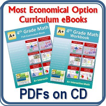 Amazon.com: 4th, Fourth Grade Math Curriculum Bundle - Lessons ...