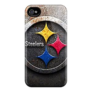 For Iphone 4/4s Cases - Pittsburgh Steelers - Protective Gift Cases