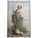 Laminated St. Jude Wallet Protection with prayer for finding Job - Protecciòn para la Cartera