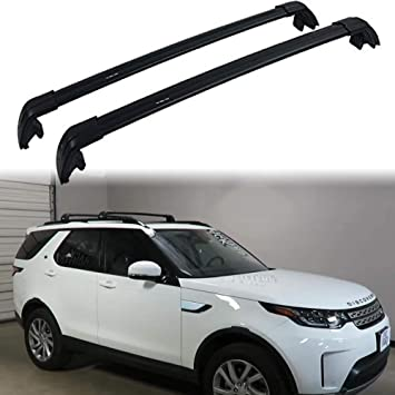 Roof Rack Cross Bars Aluminum Locking fits Land Rover Discovery Sport 2015 on