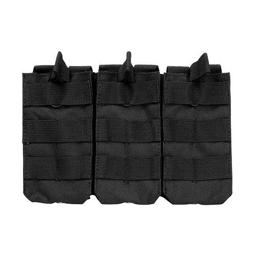 VISM by NcStar AR Triple Mag Pouch (CVAR3MP2928B), Black