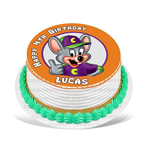 Chuck E. Cheese Edible Cake Topper Personalized Birthday 8