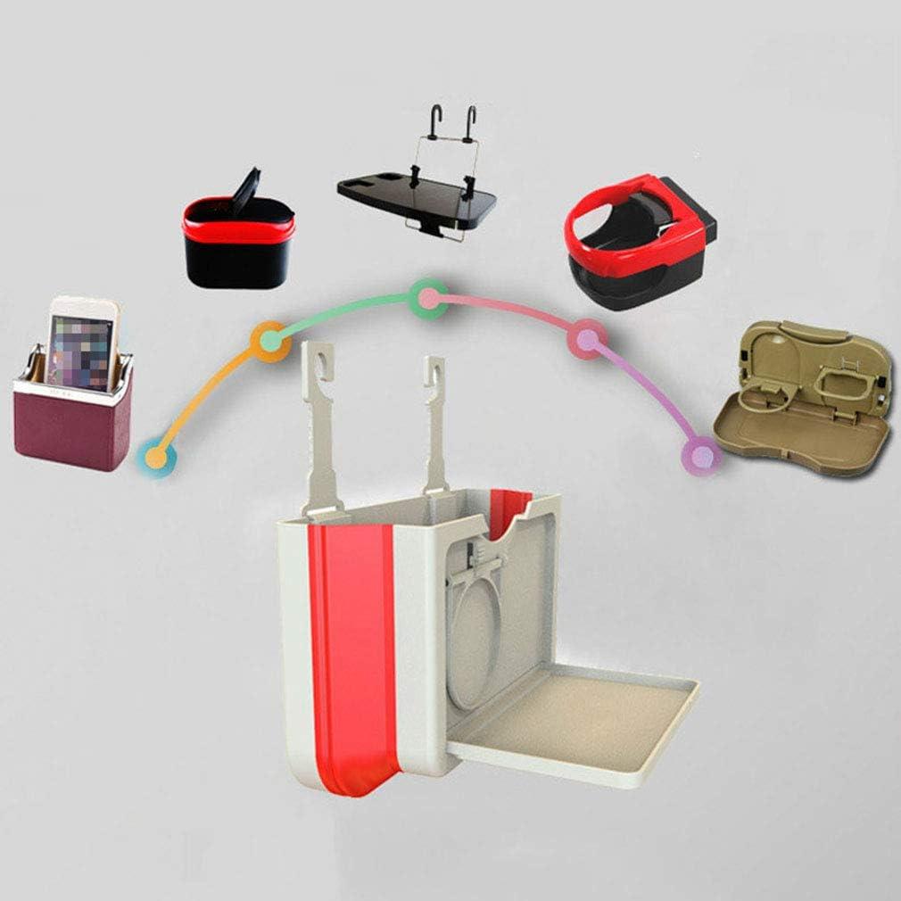 Beige MOONQING Porte-Boisson Pliant Universel Tasse Voiture Voiture Maison en Plastique Support de si/ège r/éversible si/ège Stockage Gap Organisateur