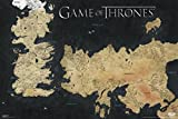 Game of Thrones Map of Weste Wall Poster