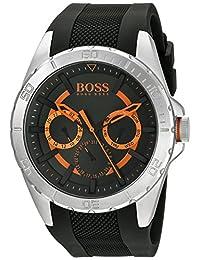 BOSS Orange Men's 1513203 Berlin Analog Display Japanese Quartz Black Watch