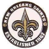 New Orleans Saints Circle Pin - est. 1967