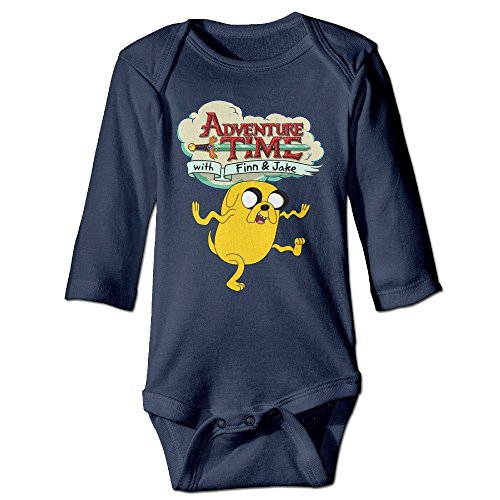 DELPT Adventure Time Jake The Dog Funny Boy & Girl Infants Climb Clothes 6 M Navy (Marceline Adventure Time Costume)