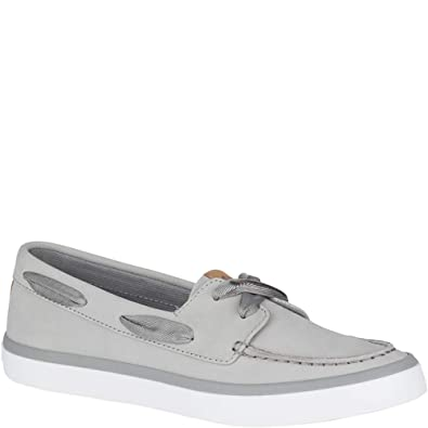644e784f625b Sperry Top-Sider Sailor Boat Shoe Women 5 Grey
